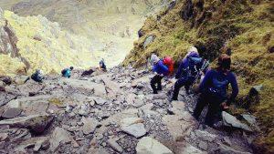 climbing carrauntoohil